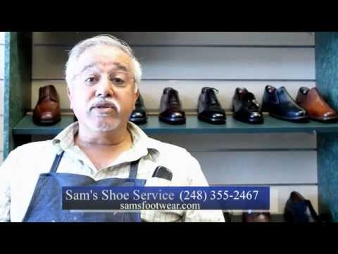bac3d2933bfa9 Sam's Shoe Service SD version - YouTube