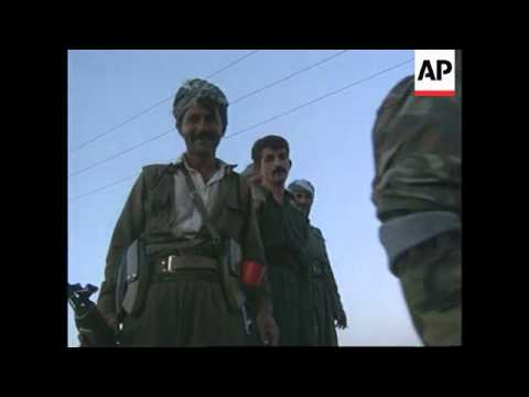 Iraq - KDP troops on their way to Sulaymaniyah