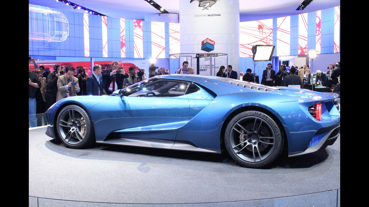 Ford Gt Concept At The  Naias Detroit Auto Show