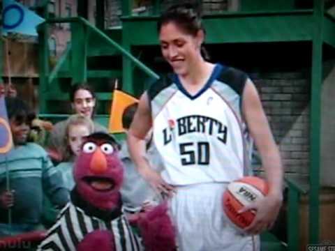 Rebecca Lobo on Sesame Street