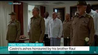 Download Lagu Fidel Castro 1926-2016: Castro's ashes honoured by his brother Raul Mp3