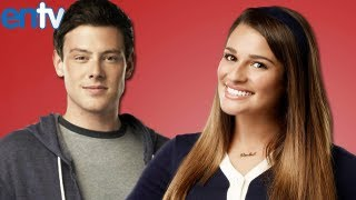 lea michele plans cory monteiths glee tribute episode