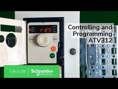 Controlling and Programming ATV312 in Local and Remote Modes | Schneider Electric Support