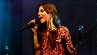 Christina Perri - Crying (Roy Orbison cover) live HMV Ritz Manchester 16-01-12