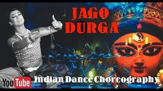 Group Dance Choreography | Jago Durga | Lopamudra Mitra | indian Dance | live performance