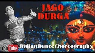 Group Dance Choreography   Jago Durga   Lopamudra Mitra   indian Dance   live performance
