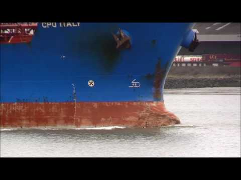 Thames Shipping by Richie Sloan, The CPO ITALY Products Tanker.