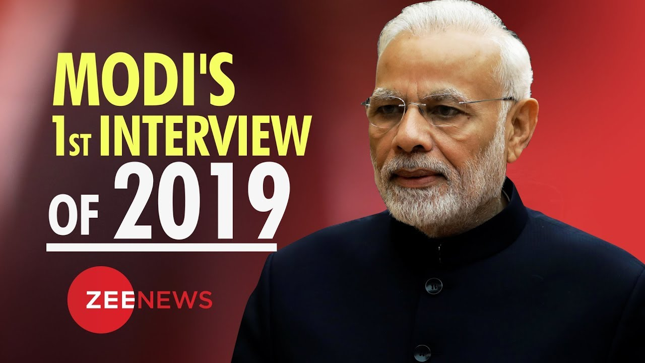 PM Narendra Modi's first interview of 2019