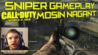 COD W@W LIVE SNIPER #3 : Mosin-Nagant Gameplay