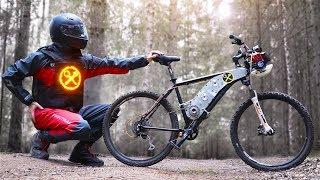 Крутой дырчик для любого горного велосипеда!