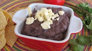 How To Make Refried Beans -- The Frugal Chef