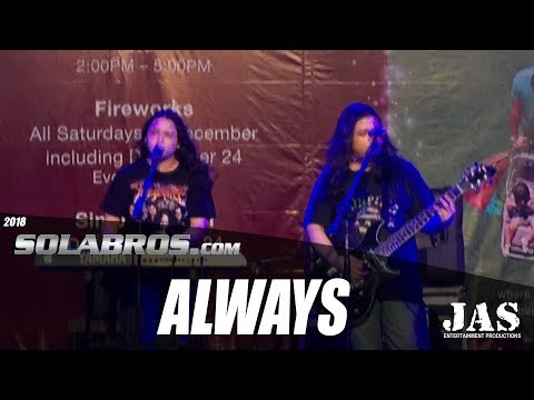 Always - Bon Jovi (Cover) - Live At Tiendesitas