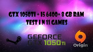 Скачать Gtx 1050 Ti In 11 Games I5 6400 8gb Ram