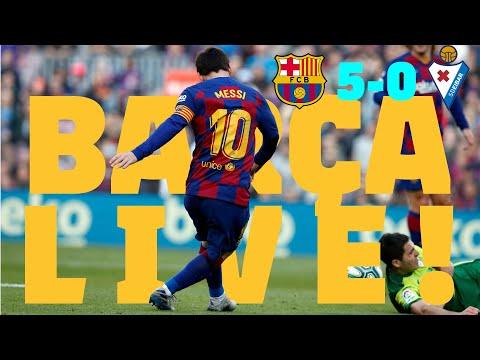 ⚽Barça 5 - 0 Eibar | BARÇA LIVE: Warm Up & Match Center #BarçaEibar