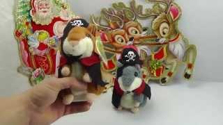 """ОБЗОР: Говорящий Хомяк-Повторюшка """"Пират"""" (интерактивная мягкая игрушка)"""