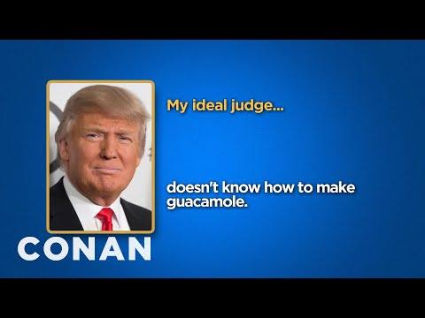 Celebrity Survey: Donald Trump, Kanye West Edition  - CONAN on TBS