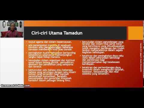 TITAS UTHM Topic 1 Part 2: Pengajian Ilmu Ketamadunan