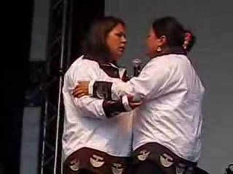 Nukariik Inuit Throat Singers - YouTube