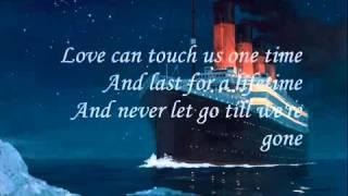 اغنية تايتنك مع الكلمات