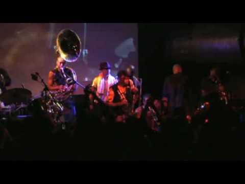 Tony Allen & Hypnotic Brass Ensemble - Gypsy - LIVE @ Broad Casting, London 29/01/09