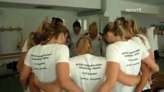 Germany Women's Volleyball Team Locker Room
