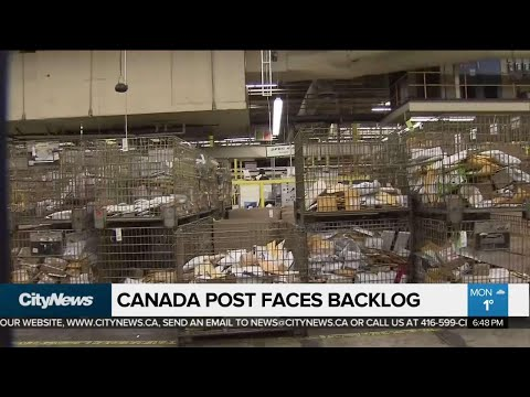 Canada Post Packages Piling Up After Strike