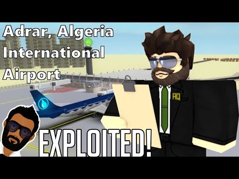 I AM EXPLOITING AN AIRLINE - ROBLOX