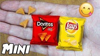 Mini Lays y Doritos! - DIY - Comestibles! - Edible Mini Lays and Doritos!