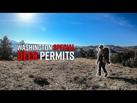 Washington Special Deer Hunt & Permit System | Special Permits Edition