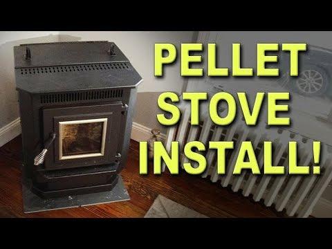 DIY Pellet Stove Installation