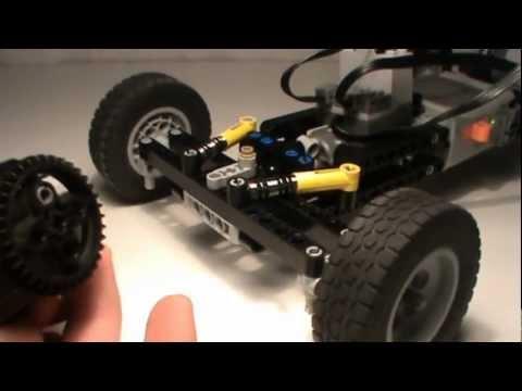 Lego Return-To-Center Steering
