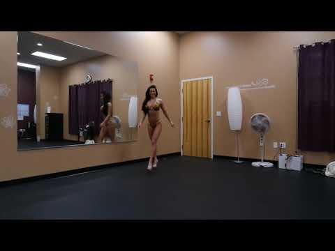 INBF/WNBF Individual Posing Routine   WNBF Bikini Pro Ellen Chapleau