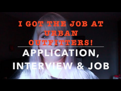 I Got The Job At Urban Outfitters! Application, Interview & Job! ♡