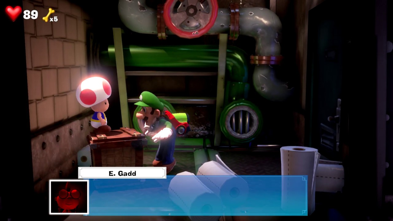 How To Get Out Of Boiler Room Luigi S Mansion 3