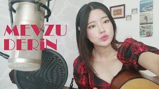 [Koreli kız Yoonsookjin] Berk Coşkun - Mevzu Derin Gitar Akustik Cover