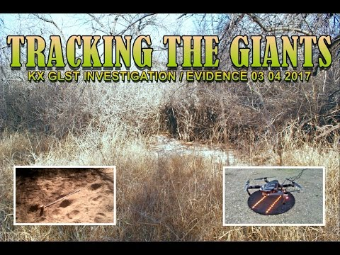 """KX """"TRACKING THE GIANTS"""" BIGFOOT 03 04 17 GLST INVESTIGATION TRACKING A-2 THE SWAMP SURPRISING FIND"""