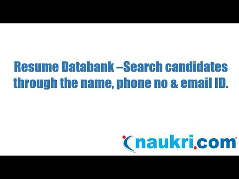 How to search a candidate through the name, phone number & email ID ...
