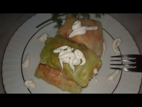 ГОЛУБЦЫ ИЗ КАПУСТЫ/Сарма из капусты/Kıymalı Lаhana Sarması/Турецкая кухня