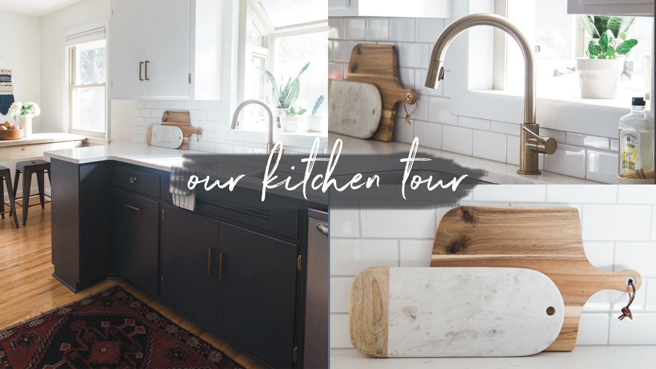 Our Kitchen Tour Before After Diy Remodel