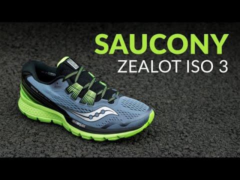 608445bc Saucony Zealot ISO 3 - Running Shoe Overview