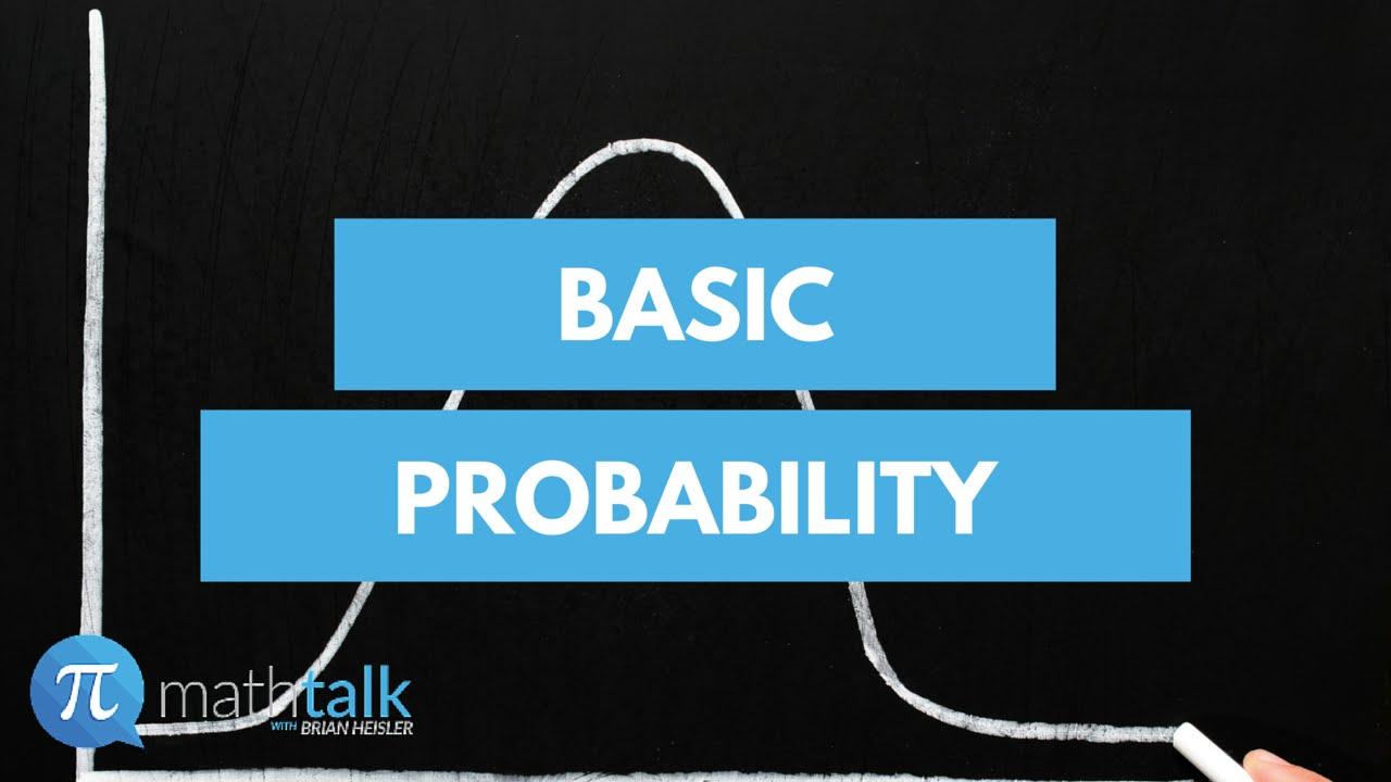 Basic Probability - YouTube