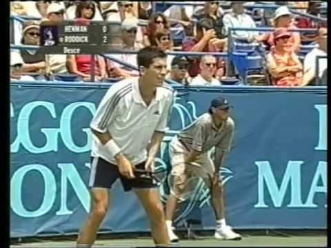ATP 2003 Washington Henman vs Roddick