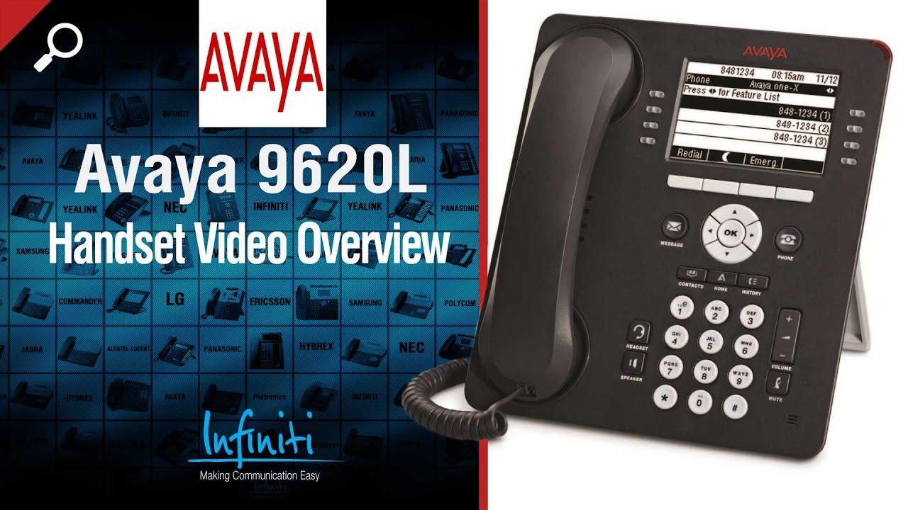 avaya 9620l handset video overview infiniti telecommunications rh youtube com Avaya 9620L Headsets Avaya 9620L DHCP