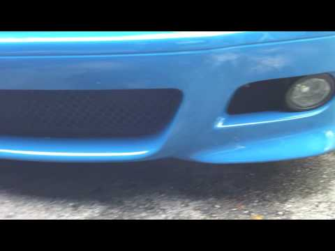 Laguna Seca Blue M3 walkaround