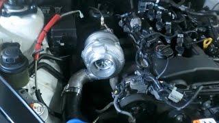 vblog  garrett gtx gen2 3076r turbo install 3 8t at custom tune
