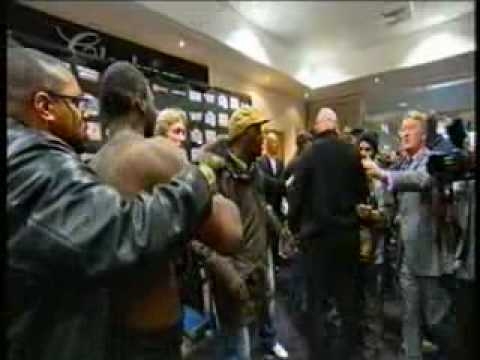 Danny Williams & Audley Harrison - SQUARE UP and BRAWL!