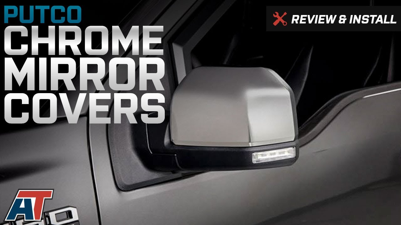 F Putco Chrome Mirror Covers Replacement Review Install Americantrucks Ford