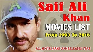 Saif Ali Khan Movies List 1993-2018 ( Bollywood News )