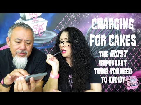 Download CHARGING FOR CAKES: The MOST IMPORTANT Thing You Need To Know - Cake Biz Video Series