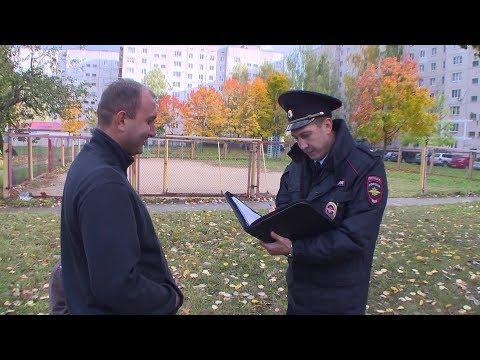 Десна-ТВ: Полицейские задержали гаражного вора-рецидивиста